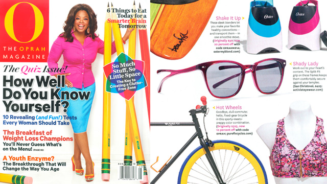 Press - Oprah's August 2012 'O-List' features San Christoval in Elderberry!!